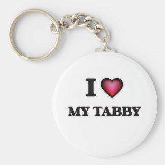 I love My Tabby Key Ring