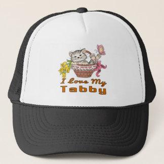 I Love My Tabby Trucker Hat