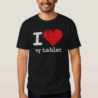 I Love My Tablet Rev T Shirt