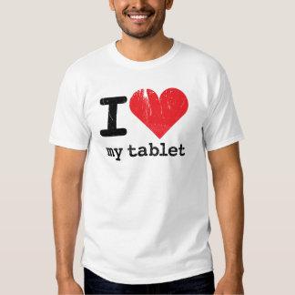 I Love My Tablet Tshirt