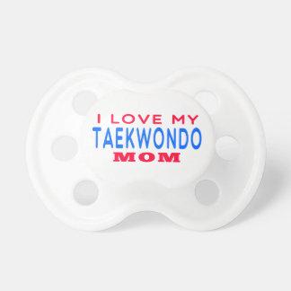 I Love My Taekwondo Mom Dummy