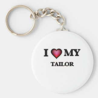 I love my Tailor Basic Round Button Key Ring