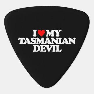 I LOVE MY TASMANIAN DEVIL PLECTRUM