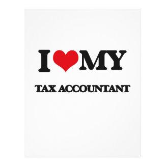 I love my Tax Accountant Flyers