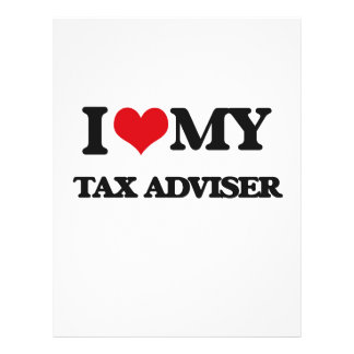 I love my Tax Adviser Personalized Flyer