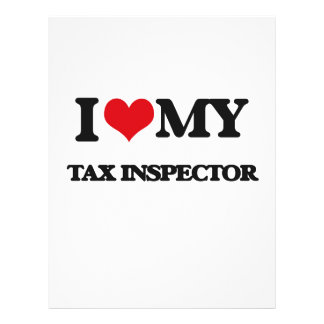 I love my Tax Inspector Custom Flyer