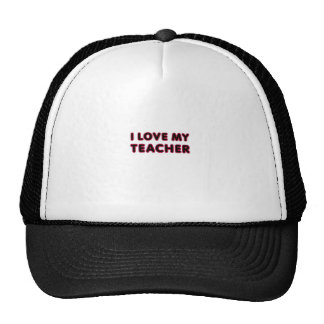 I Love My Teacher (thank you) Cap