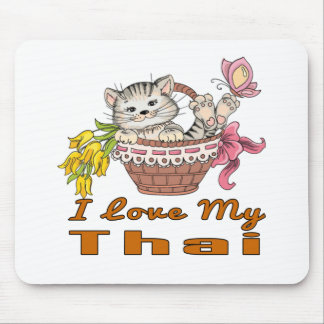 I Love My Thai Mouse Pad