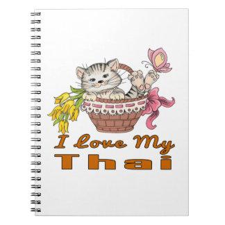 I Love My Thai Spiral Notebook