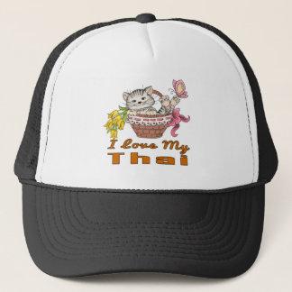 I Love My Thai Trucker Hat
