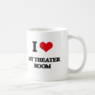 I Love My Theater Room Coffee Mug
