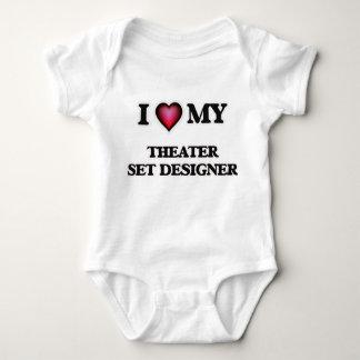 I love my Theater Set Designer Baby Bodysuit
