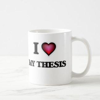 I love My Thesis Coffee Mug