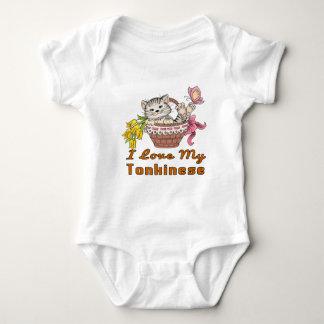 I Love My Tonkinese Baby Bodysuit