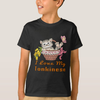 I Love My Tonkinese T-Shirt