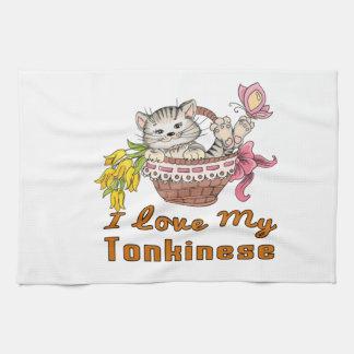 I Love My Tonkinese Tea Towel