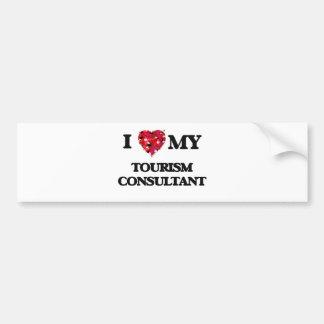 I love my Tourism Consultant Bumper Sticker