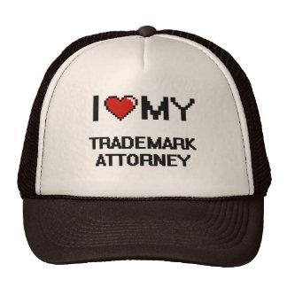 I love my Trademark Attorney Trucker Hat