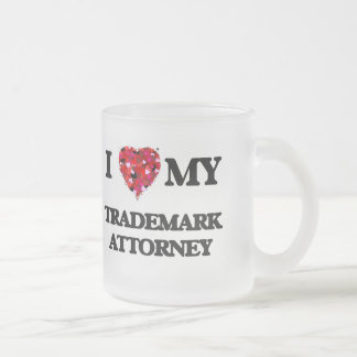 I love my Trademark Attorney 10 Oz Frosted Glass Coffee Mug