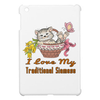 I Love My Traditional Siamese iPad Mini Cover