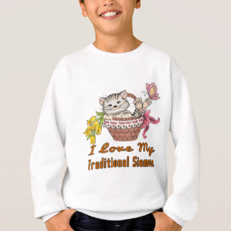 I Love My Traditional Siamese Sweatshirt