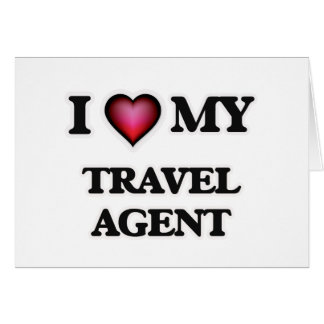 I love my Travel Agent Card