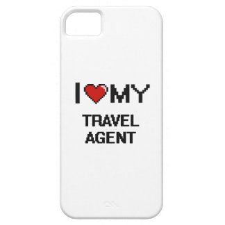 I love my Travel Agent iPhone 5 Covers