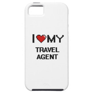 I love my Travel Agent iPhone 5 Cover