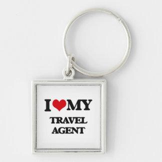 I love my Travel Agent Keychains
