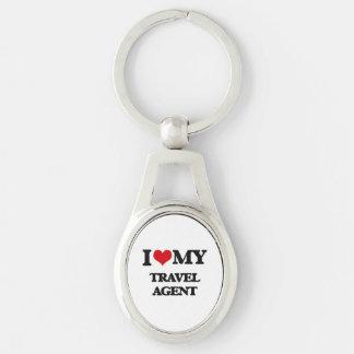 I love my Travel Agent Key Chains