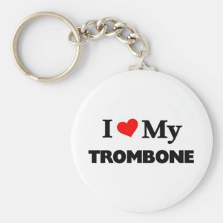 I love my Trombone Key Ring