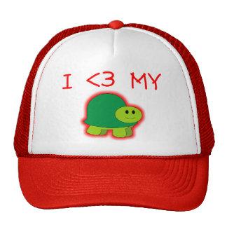 I Love My Turtle Cap