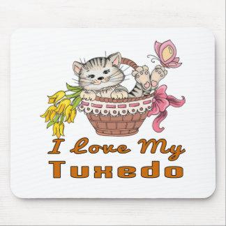 I Love My Tuxedo Mouse Pad