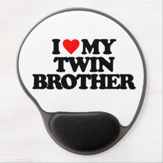 I LOVE MY TWIN BROTHER GEL MOUSE PAD