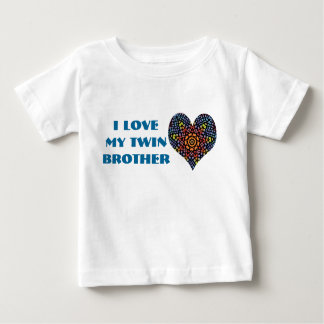 I Love My Twin Brother, toddler shirt