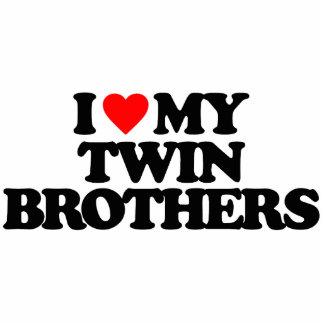 I LOVE MY TWIN BROTHERS PHOTO CUTOUT