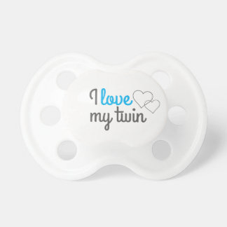 I love my twin pacifier