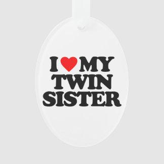 I LOVE MY TWIN SISTER