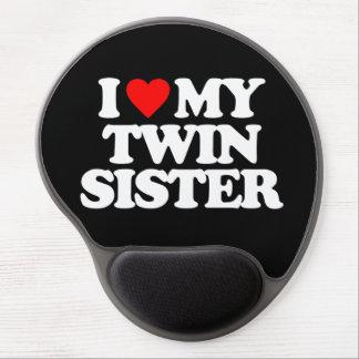 I LOVE MY TWIN SISTER GEL MOUSEPAD