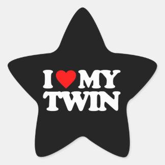 I LOVE MY TWIN STAR STICKERS
