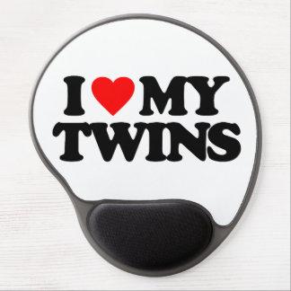 I LOVE MY TWINS GEL MOUSEPAD