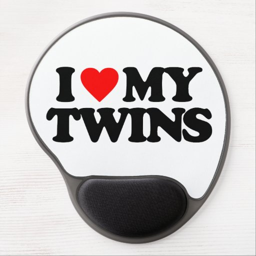 I LOVE MY TWINS GEL MOUSEPAD