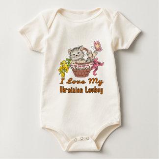 I Love My Ukrainian Levkoy Baby Bodysuit