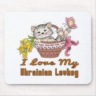 I Love My Ukrainian Levkoy Mouse Pad