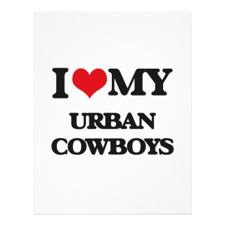 I Love My URBAN COWBOYS Full Color Flyer