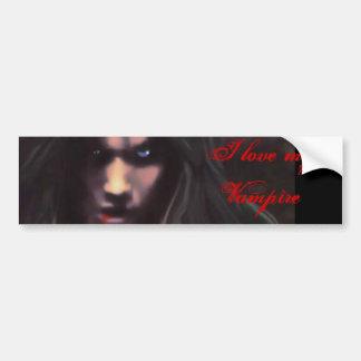 I love my Vampire Bumper Sticker