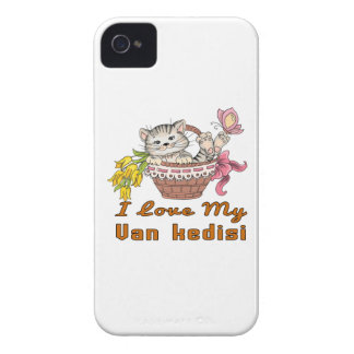 I Love My Van kedisi Case-Mate iPhone 4 Case