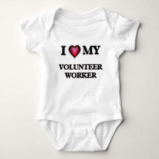 I love my Volunteer Worker Baby Bodysuit
