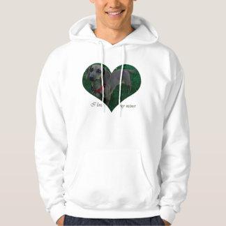 I love my weiner hoodie