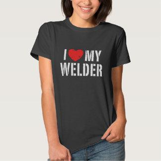 I Love My Welder Shirts